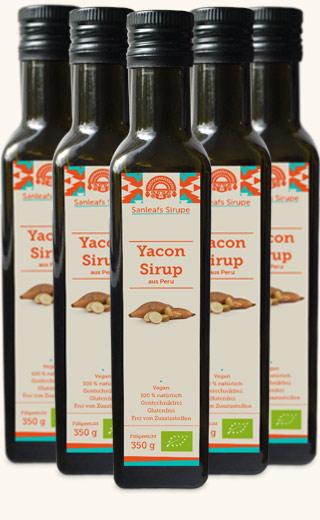 Sanleaf - Bio Yacon Sirup